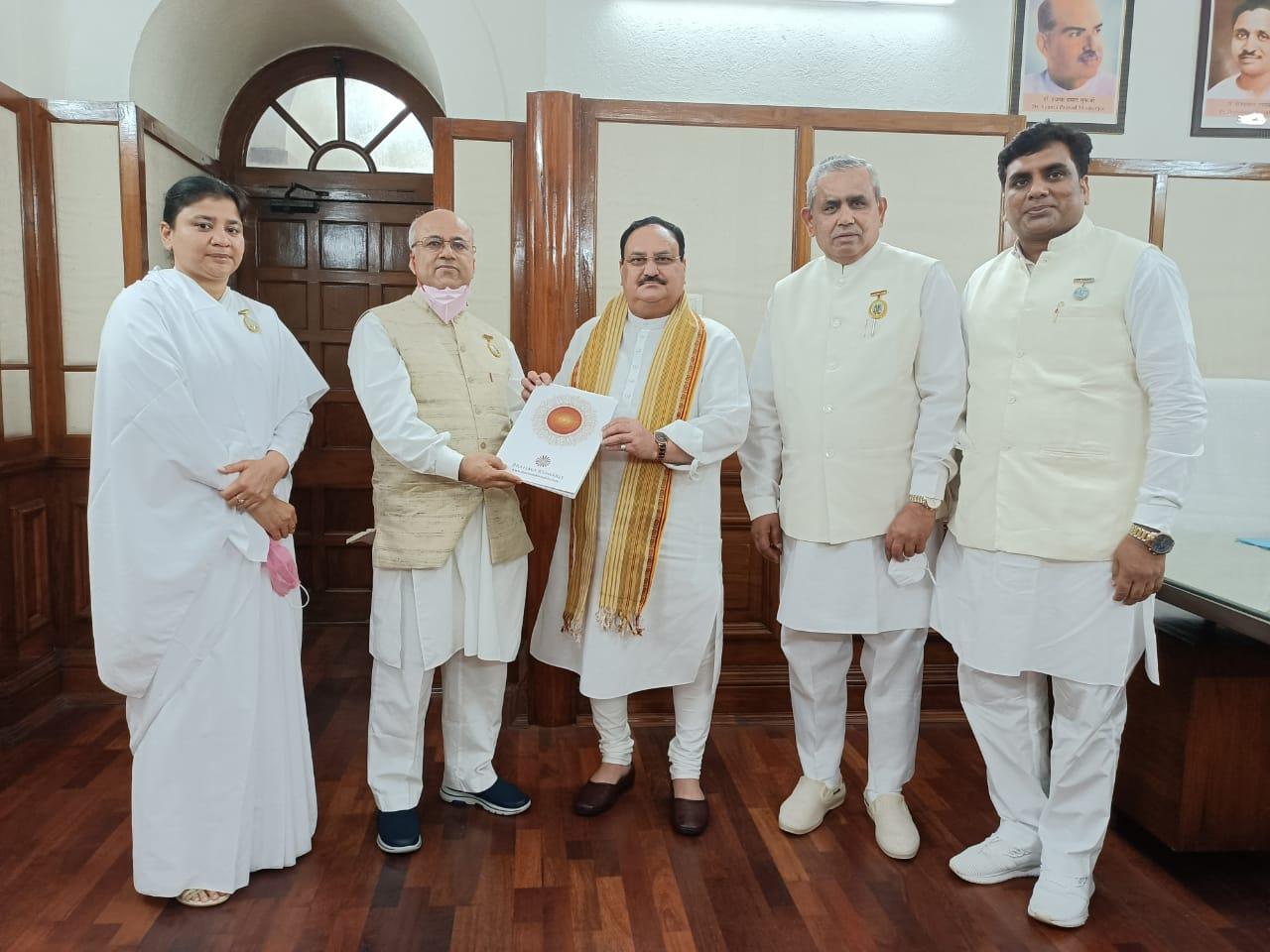 Felicitation of Hon'ble Shri JP Nadda Ji, National President of Bharatiya Janata Party (BJP)